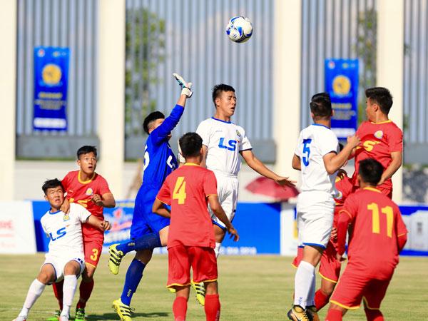 Kết quả lượt 2 bảng A VCK giải Bóng đá U17 Quốc gia – CÚP Thái Sơn Nam, ngày 29/6: SHB Đà Nẵng đại thắng