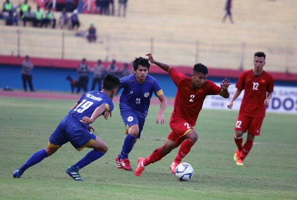 Thắng Philippines 5-0, U19 Việt Nam tạm chiếm ngôi đầu bảng