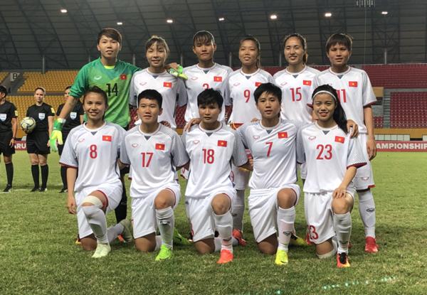 Đánh bại Philippines 5-0, Việt Nam giành quyền vào chơi bán kết giải AFF Cúp nữ 2018
