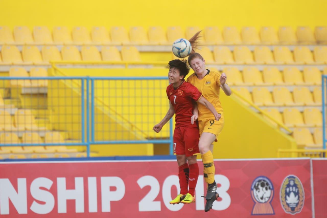Thua U20 Australia 2-4, Việt Nam gặp lại Myanmar ở trận tranh HCĐ AFF Cúp nữ 2018