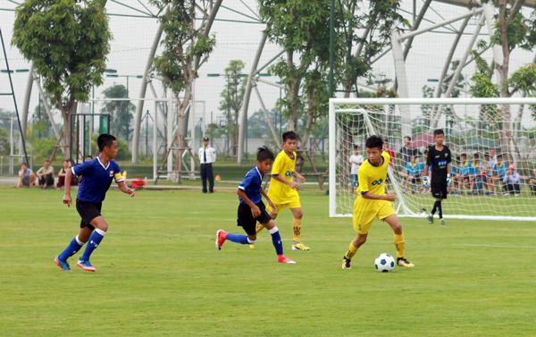 PVF gặp Sông Lam Nghệ An tại Chung kết giải Bóng đá U13 toàn Quốc - Cúp VPP Hồng Hà 2018
