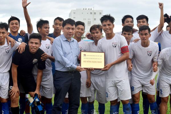 Thắng Phố Hiến 1-0, An Giang giành quyền thăng hạng Nhất mùa giải 2019