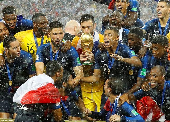 Pháp 4-2 Croatia: Les Bleus lần thứ 2 vô địch World Cup