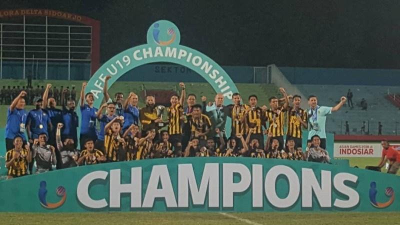 Malaysia đăng quang ngôi vô địch Giải U19 Đông Nam Á 2018