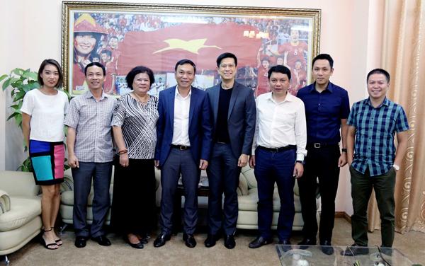 Tân P.Tổng giám đốc Sabeco cam kết đồng hành cùng Bóng đá Việt Nam