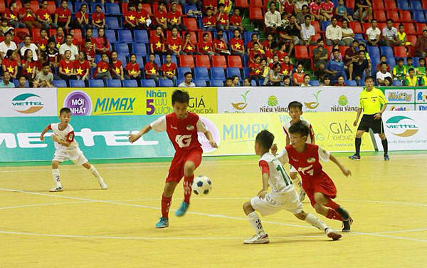 Kết quả lượt trận thứ 2 VCK giải Bóng đá Nhi đồng Toàn Quốc - Cúp Viettel 2018, ngày 25/7