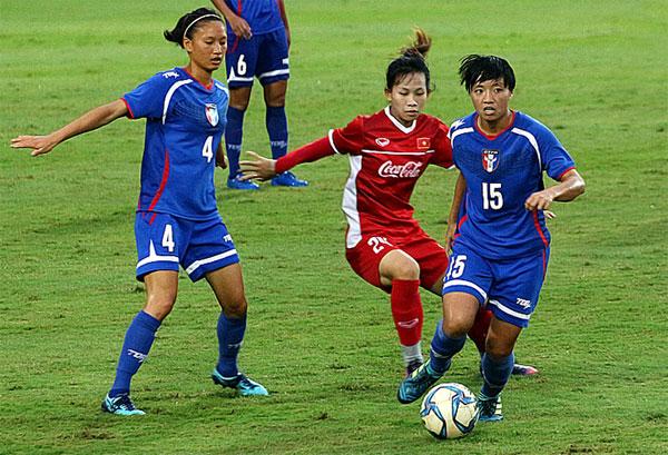 Đấu tập (25/7), ĐT nữ Việt Nam - ĐT nữ Đài Bắc Trung Hoa: 4-0