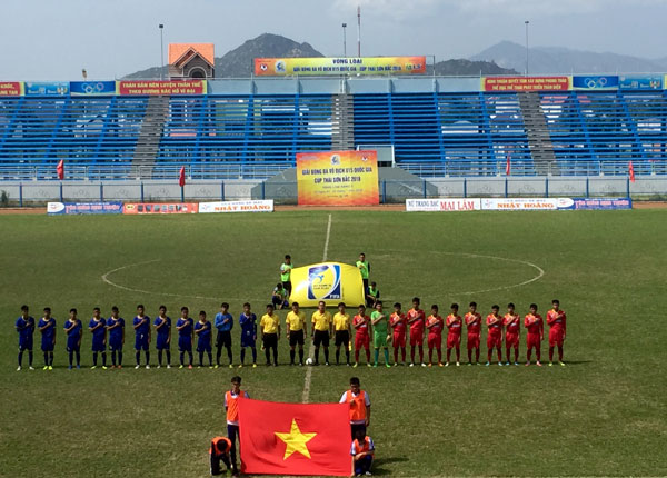 Xác định được 8 đội giành quyền tham dự VCK giải Bóng đá U15 Quốc gia - Cúp Thái Sơn Bắc 2018