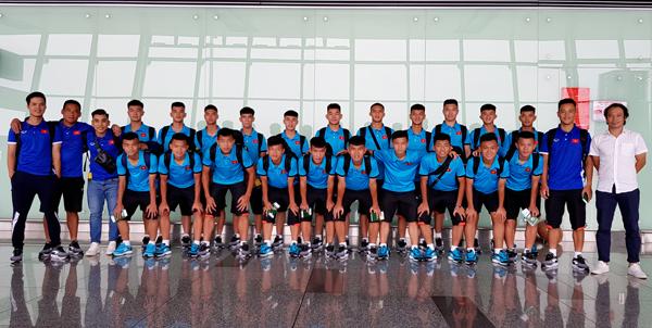 ĐT U16 Việt Nam lên đường tham dự Giải vô địch U16 Đông Nam Á 2018
