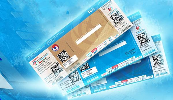 Giải Bóng đá Quốc tế U23 - Cúp Vinaphone 2018 tiên phong sử dụng loại vé hiện đại và bảo mật cao nhất tại Việt Nam