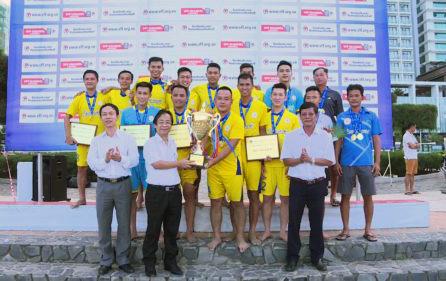 Sanest Khánh Hòa vô địch Giải bóng đá Bãi biển VĐQG 2018