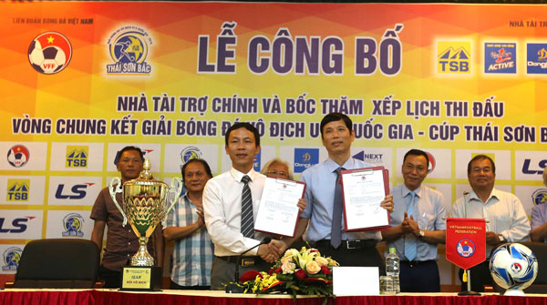 Thái Sơn Bắc tiếp tục đồng hành cùng giải bóng đá Vô địch U15 Quốc gia 2018
