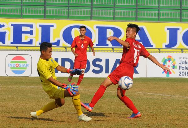 Thanh Trung lập cú đúp, U16 Việt Nam thắng Timor Leste 4-0