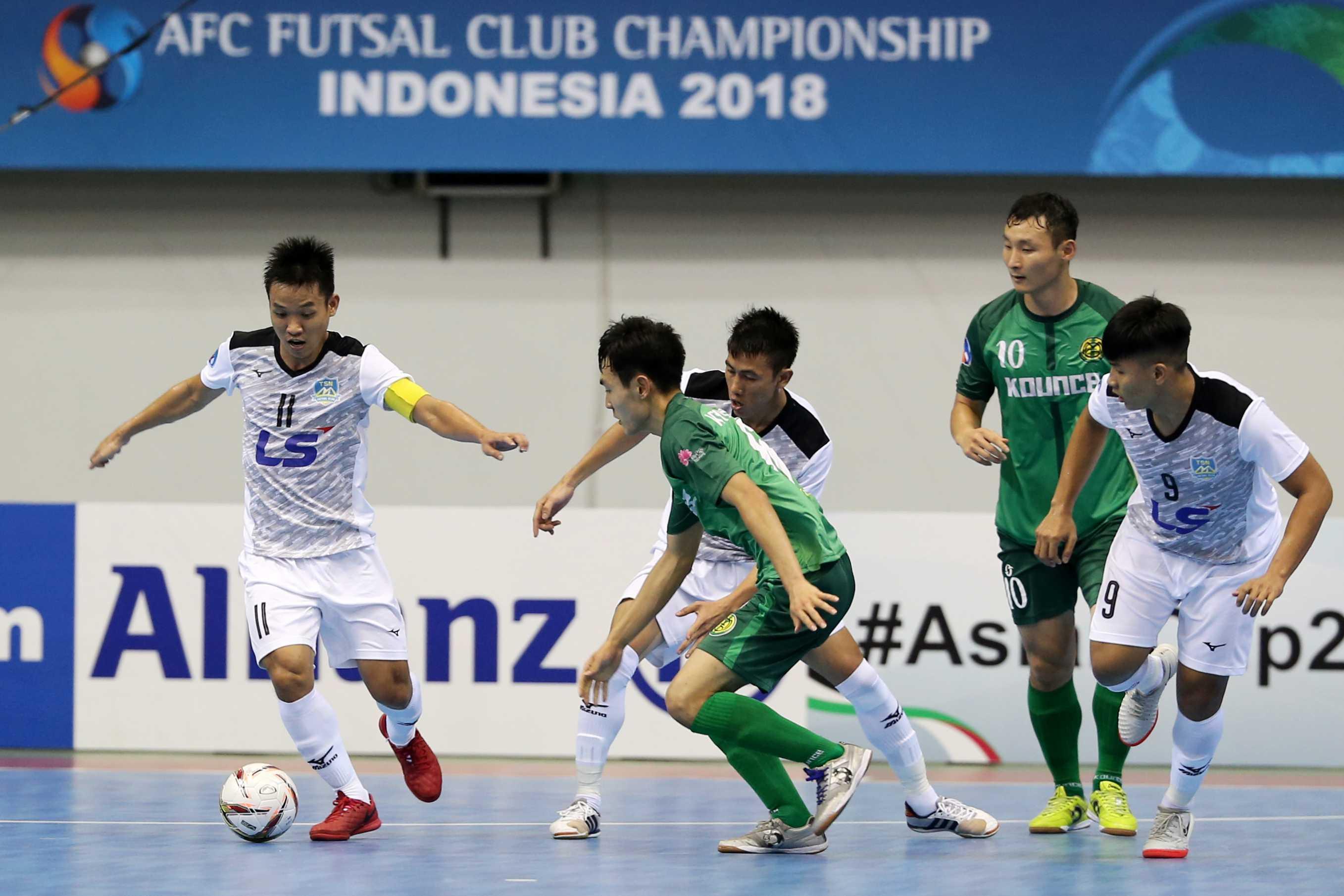Giải vô địch các CLB Futsal châu Á 2018: Thái Sơn Nam đại thắng trận ra quân