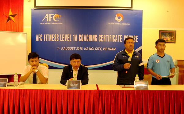 Khai giảng khóa HLV thể lực AFC Level 1A