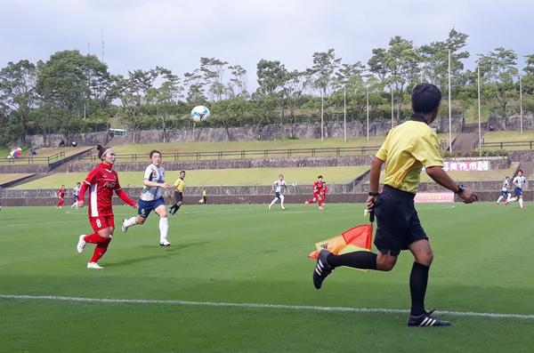 Giao hữu (2/8), ĐT nữ Việt Nam vs CLB nữ Yunogo Belle: 2-2