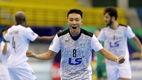 Thắng nghẹt thở, Thái Sơn Nam vào tứ kết giải futsal CLB châu Á