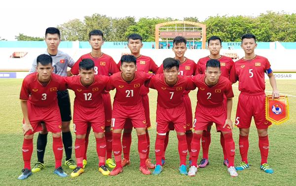 Chia điểm với Myanmar, U16 Việt Nam dừng chân tại vòng bảng
