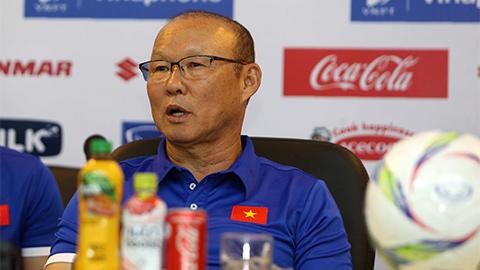 HLV Park Hang-seo tin vào khả năng của Olympic Việt Nam tại Asiad 18