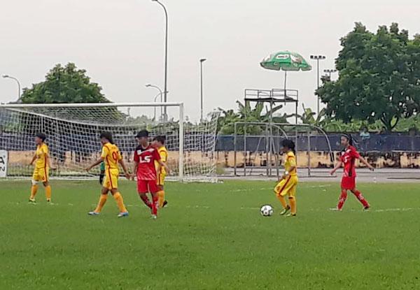 Khai mạc giải Bóng đá Nữ vô địch U19 Quốc gia 2018: Hà Nội chiếm ngôi đầu