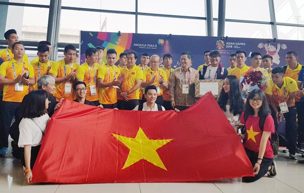 ĐT Olympic Việt Nam đã có mặt tại Indonesia, sẵn sàng bước vào thử thách tại Asiad 18