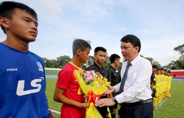 Khởi tranh VCK U15 Quốc gia - CÚP Thái Sơn Bắc 2018: SLNA khởi đầu thuận lợi
