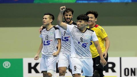 Thái Sơn Nam về nhì ở giải futsal các CLB châu Á 2018