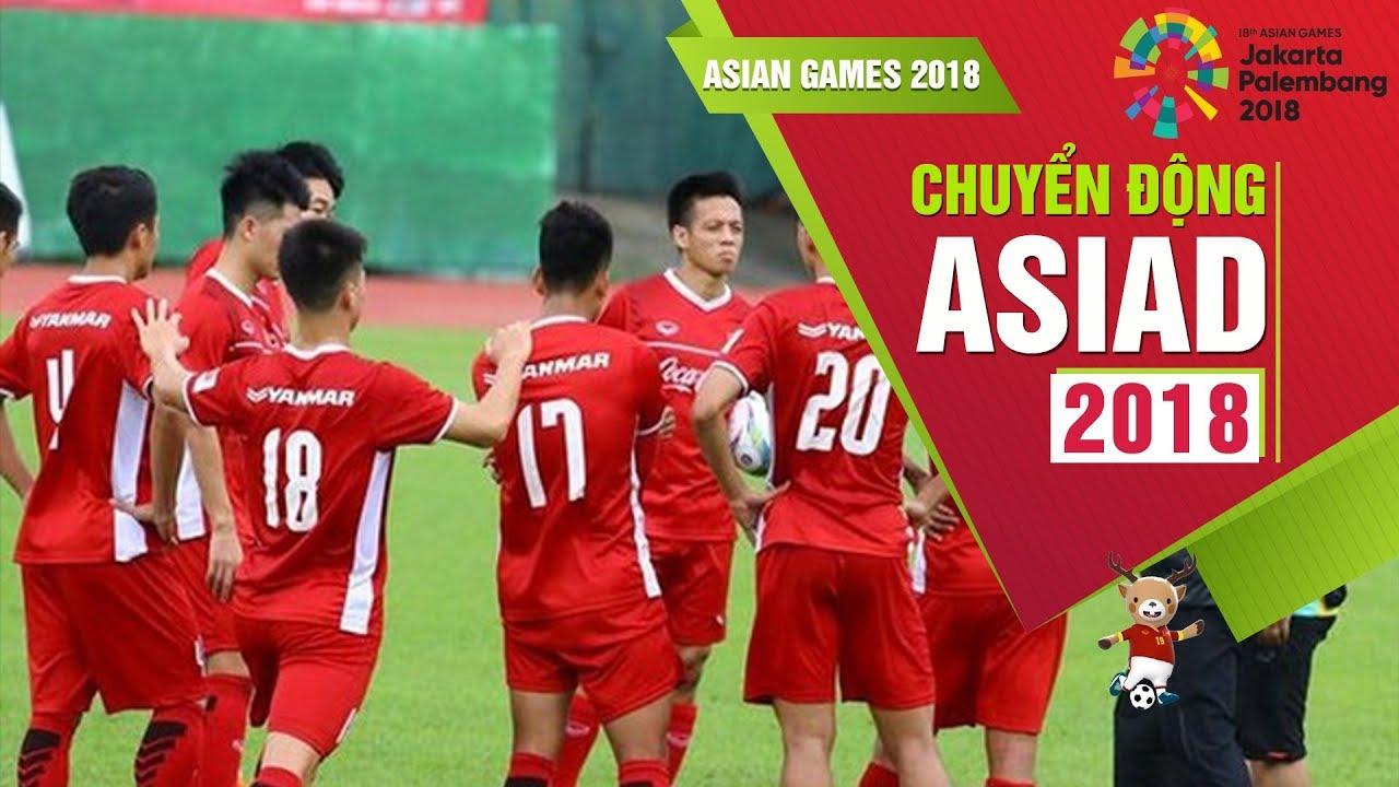 Lịch thi đấu của ĐT Olympic Việt Nam tại vòng bảng Asiad 18