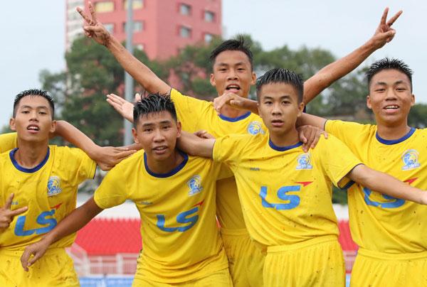 Kết quả bảng A VCK U15 Quốc gia - Cúp Thái Sơn Bắc 2018, ngày 14/8: An Giang dừng chân tại vòng bảng