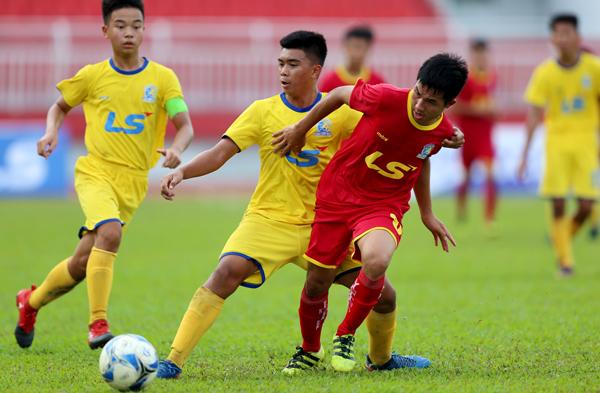 Kết quả lượt 3 bảng B VCK giải Bóng đá U15 Quốc gia - Cúp Thái Sơn Bắc 2018, ngày 17/8: Viettel tiếp tục bất bại