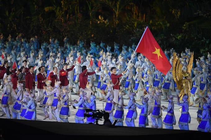 Lễ khai mạc ASIAD 18: Rực rỡ và đậm chất truyền thống