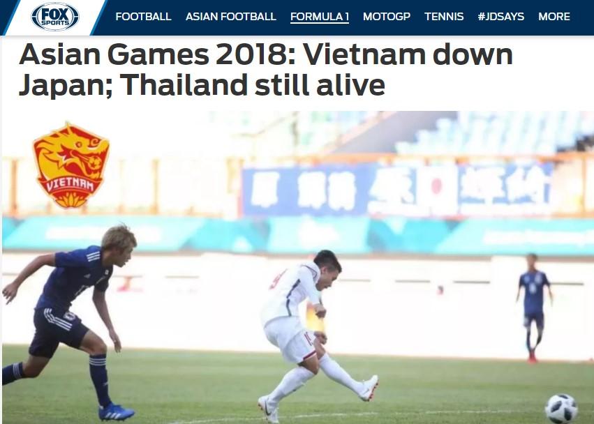Báo châu Á bất ngờ với chiến thắng của Việt Nam