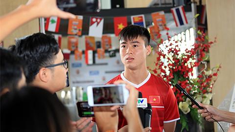 ĐT Olympic Việt Nam luôn chiến đấu hết mình, xứng đáng với ngôi đầu bảng