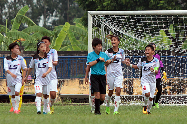 Kết quả lượt trận thứ 5 giải Bóng đá Nữ vô địch U19 Quốc gia 2018, ngày 24/8: Hà Nội vô địch sớm một vòng đấu