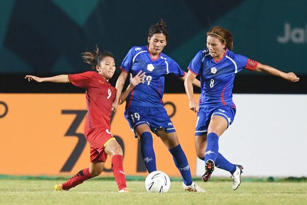 (Asiad 2018) Đội tuyển nữ Việt Nam dừng bước tại tứ kết