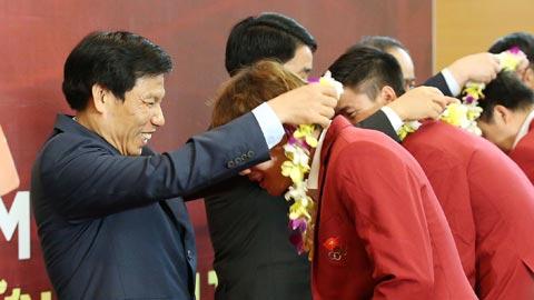 Olympic Việt Nam: Vinh quang ngày trở về