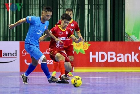 Lượt về GĐII Giải Futsal VĐQG HBank 2018: Thái Sơn Nam lấy lại ngôi nhì