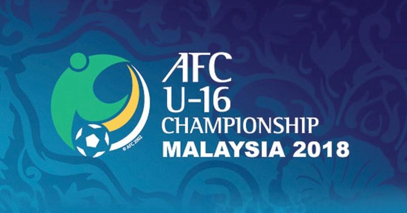 Lịch thi đấu bảng C vòng chung kết giải bóng đá U16 châu Á 2018