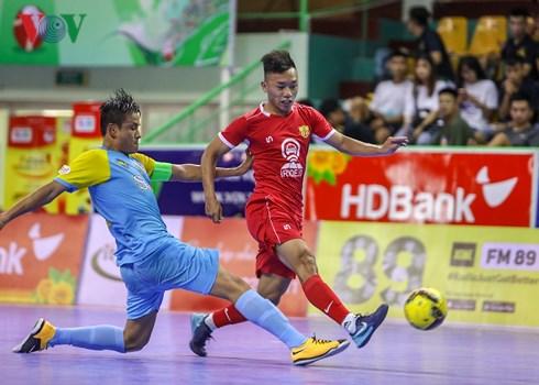 Vòng 11 Giải Futsal VĐQG HDBank 2018 (ngày 10/9): Sanna Khánh Hòa thắng nghẹt thở