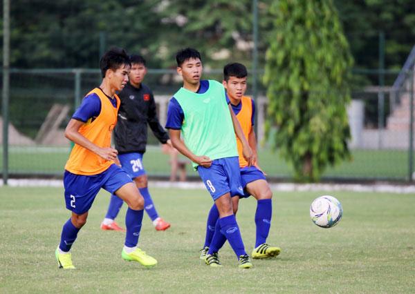 U16 Việt Nam tích cực hoàn thiện bước chuẩn bị cuối cùng cho VCK U16 châu Á 2018