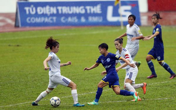 Lượt 8 giải bóng đá nữ VĐQG - Cúp Thái Sơn Bắc 2018 (14/9): Than KSVN áp sát ngôi đầu