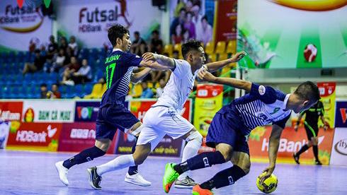 Vòng 14 Giải Futsal VĐQG HDBank 2018 (ngày 19/9): Thái Sơn Nam áp sát ngôi đầu bảng