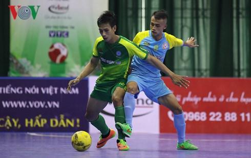 Vòng 15 Giải Futsal VĐQG HDBank 2018 (ngày 21/9): Sanatech Sanest KH vươn lên nhì bảng
