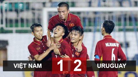 Thua ngược U19 Uruguay, U19 Việt Nam xếp thứ ba tại Giải Tứ Hùng 2018