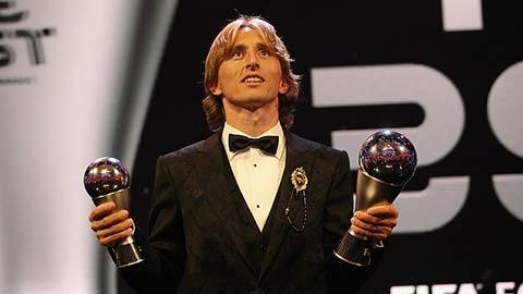 Modric giành giải FIFA The Best 2018