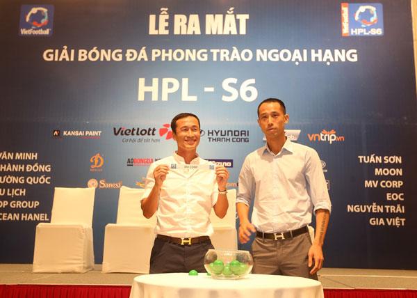 Công bố Giải bóng đá phong trào ngoại hạng Hà Nội lần thứ 6 năm 2018 (HPL - S6)