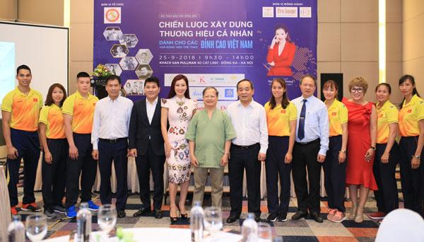 Xây dựng thương hiệu cá nhân dành cho các vận động VĐV thể thao đỉnh cao Việt Nam