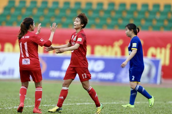 Lượt về giải bóng đá nữ VĐQG - Cúp Thái Sơn Bắc 2018 (29/9): Hà Nội khẳng định sức mạnh
