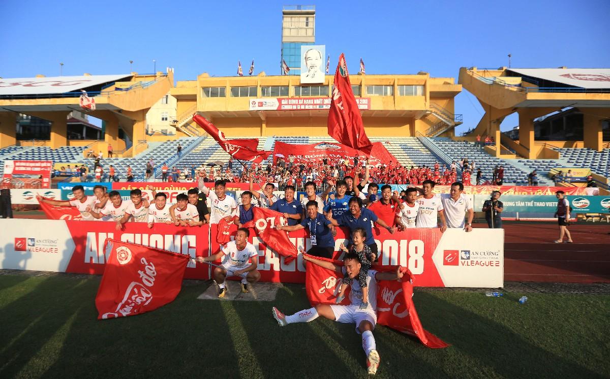 Vòng 17 giải HNQG-An Cường 2018: CLB Viettel chính thức giành vé thăng hạng