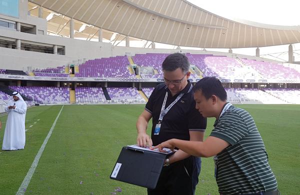 VFF tiền trạm cơ sở vật chất phục vụ ĐT Việt Nam tại VCK Asian Cup 2019